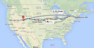 From Boston to Salt Lake: The journey of a lifetime