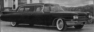 Howard Hughes' Limousine, 1959