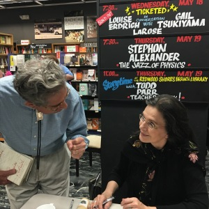 Louise Erdrich signs my book
